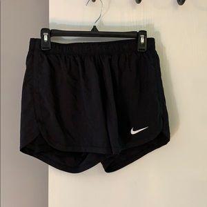 Nike Dri-Fit black workout shorts 🌚